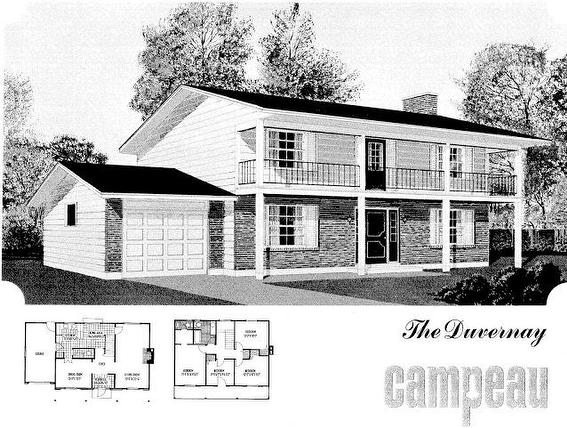 Campeau The Duverynay Two Storey Model